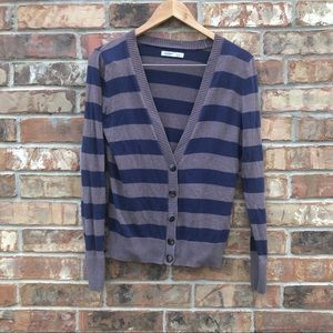 Old Navy Striped Cardigan Size S
